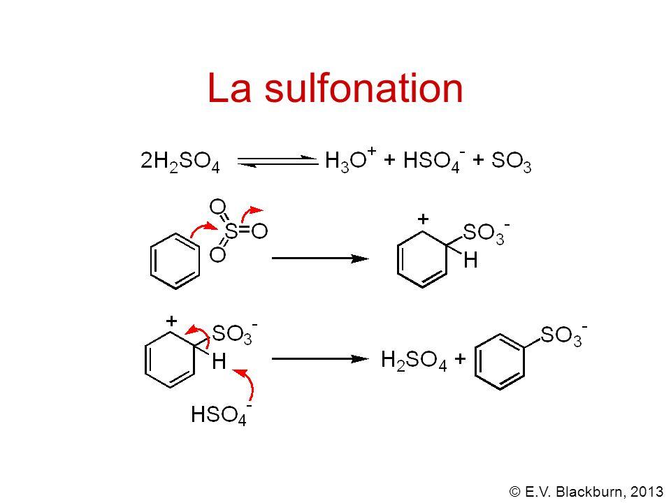 La sulfonation