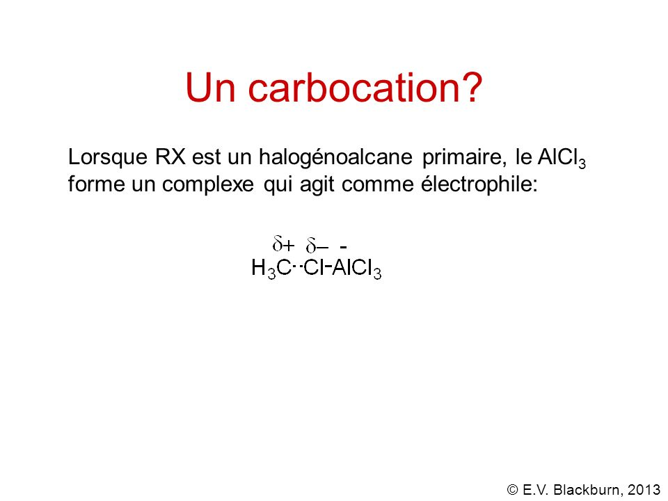 Un carbocation.