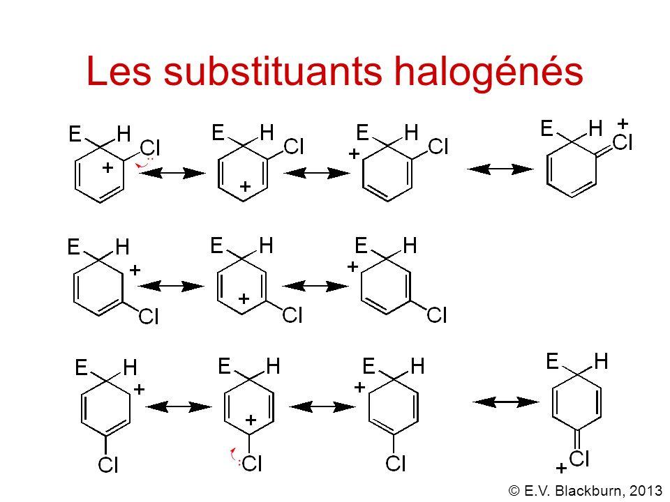 Les substituants halogénés
