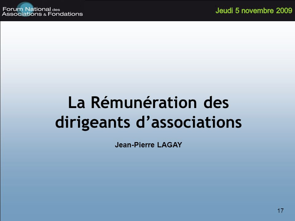 dirigeants d'associations