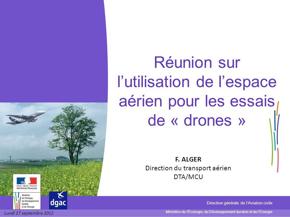Direction du transport aérien