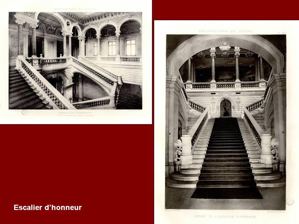 Escalier d'honneur