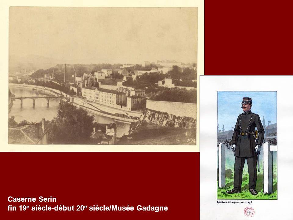 Caserne Serin fin 19e siècle-début 20e siècle/Musée Gadagne