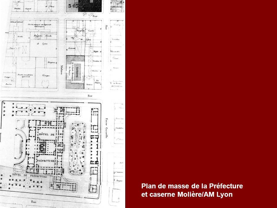 Plan de masse de la Préfecture