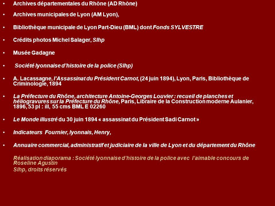 Archives départementales du Rhône (AD Rhône)