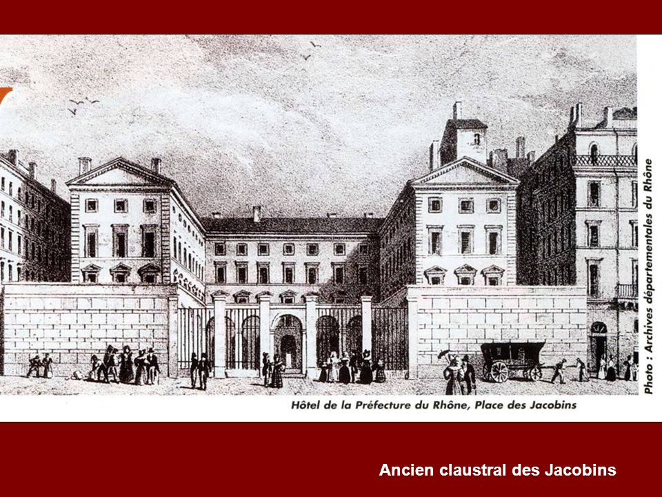Ancien claustral des Jacobins