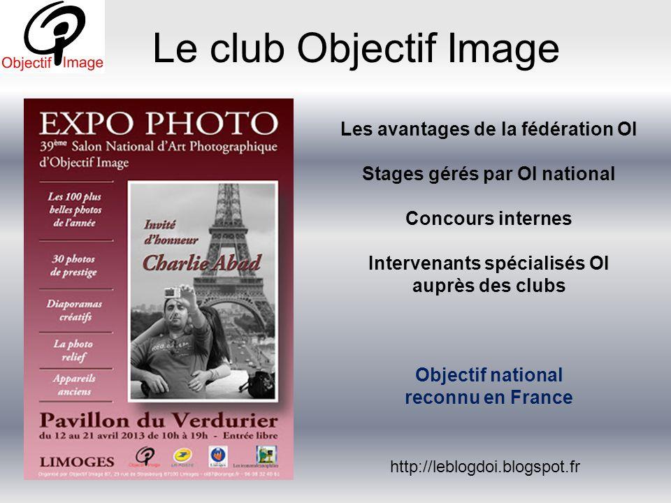 Le club Objectif Image Les avantages de la fédération OI