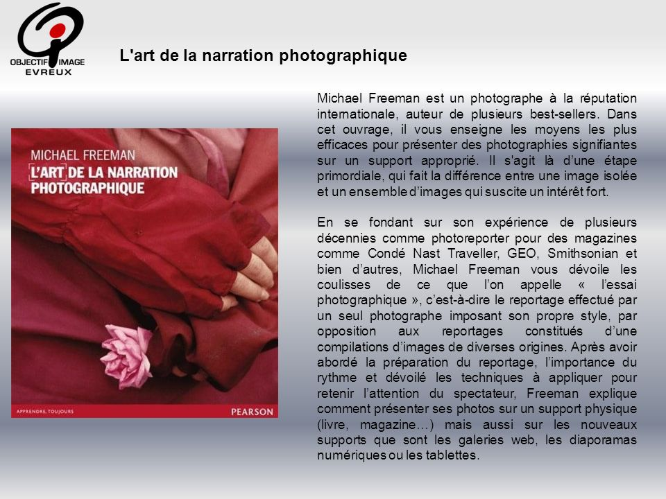 L art de la narration photographique