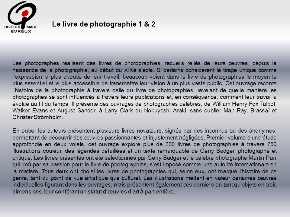 Le livre de photographie 1 & 2