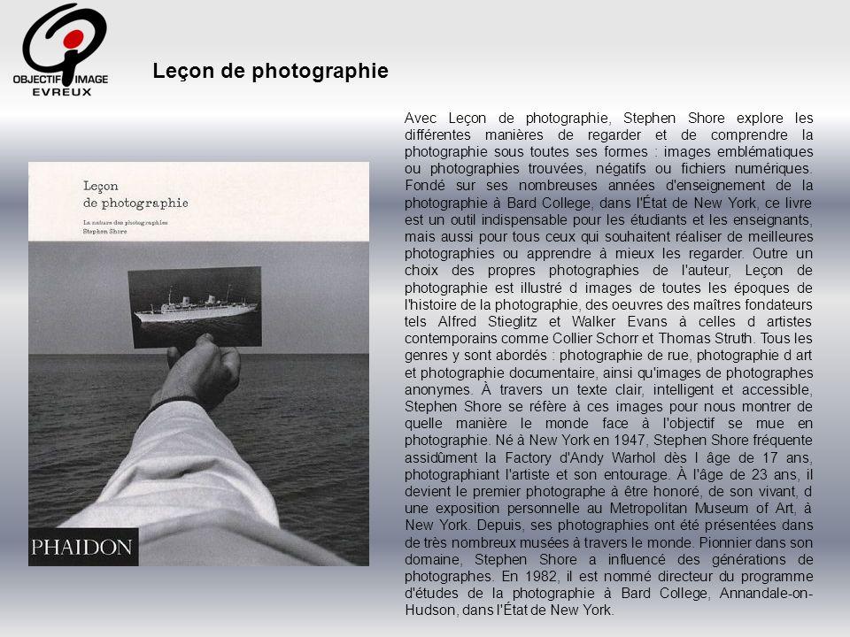 Leçon de photographie