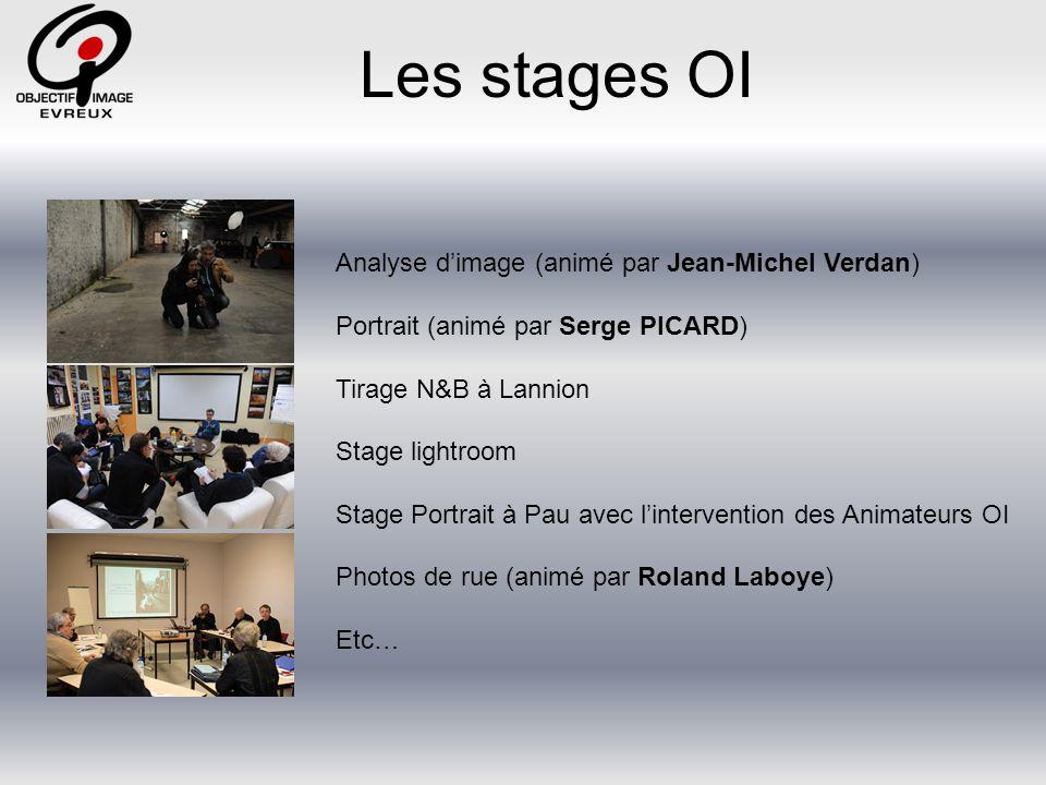 Les stages OI Analyse d'image (animé par Jean-Michel Verdan)