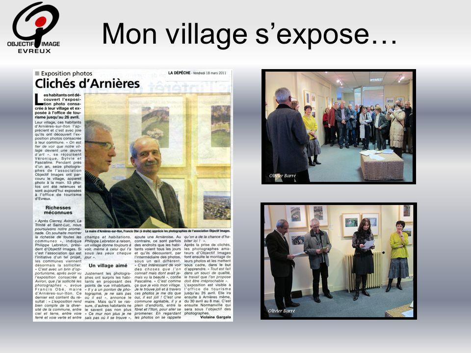 Mon village s'expose…