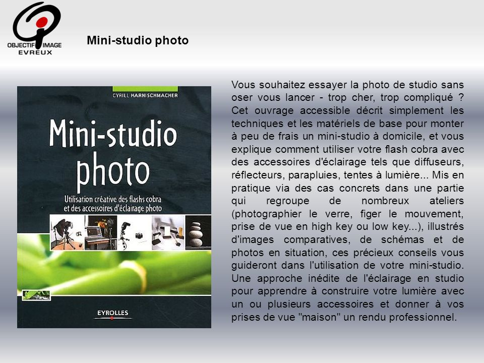 Mini-studio photo