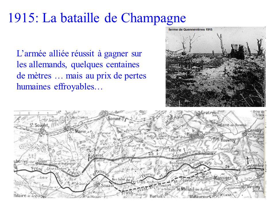 1915: La bataille de Champagne