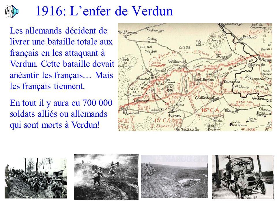 1916: L'enfer de Verdun