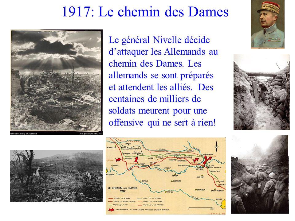 1917: Le chemin des Dames