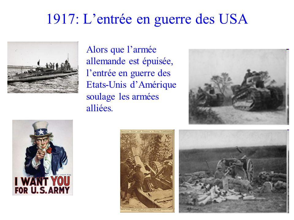 1917: L'entrée en guerre des USA