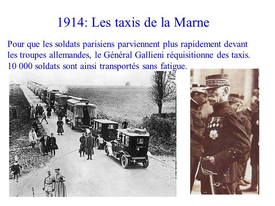 1914: Les taxis de la Marne