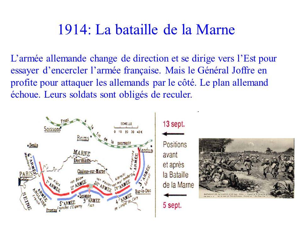 1914: La bataille de la Marne