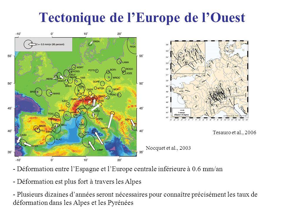 Tectonique de l'Europe de l'Ouest