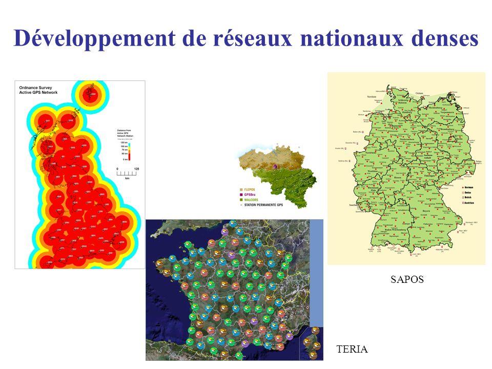 Développement de réseaux nationaux denses