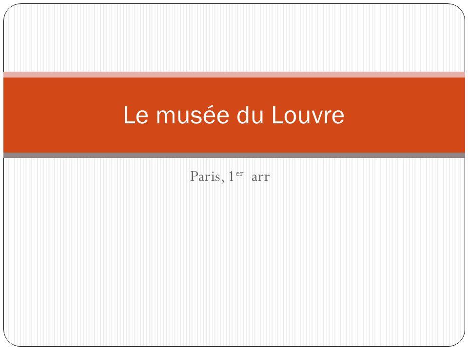 Le musée du Louvre Paris, 1er arr