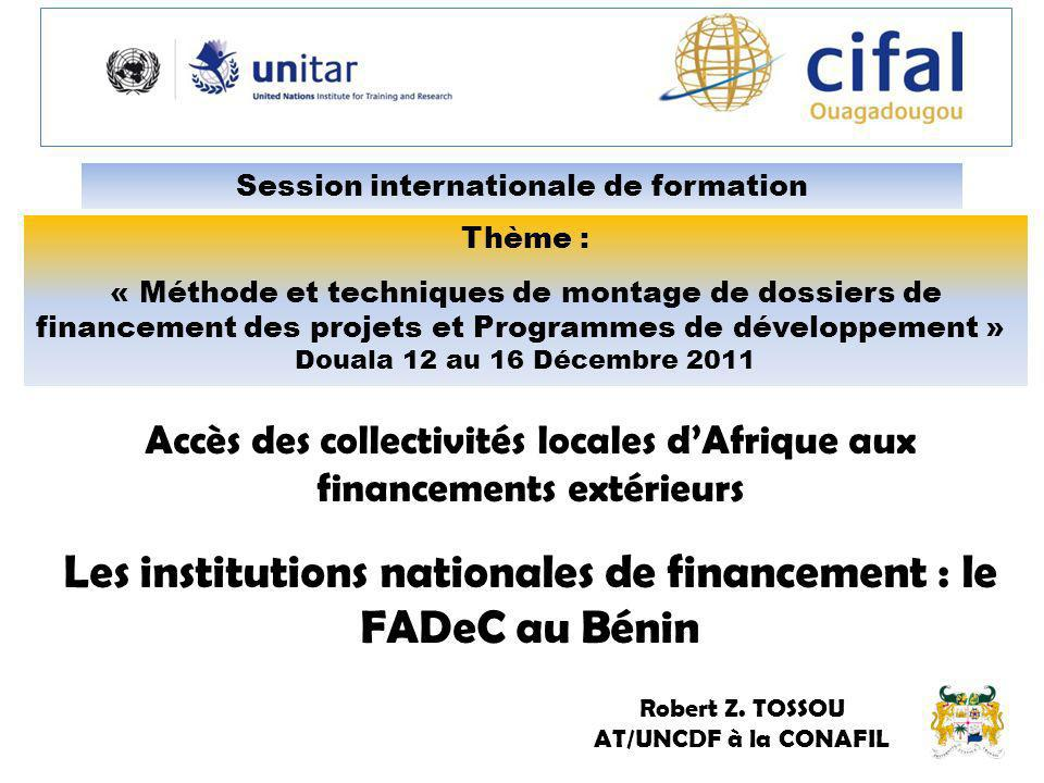 Session internationale de formation