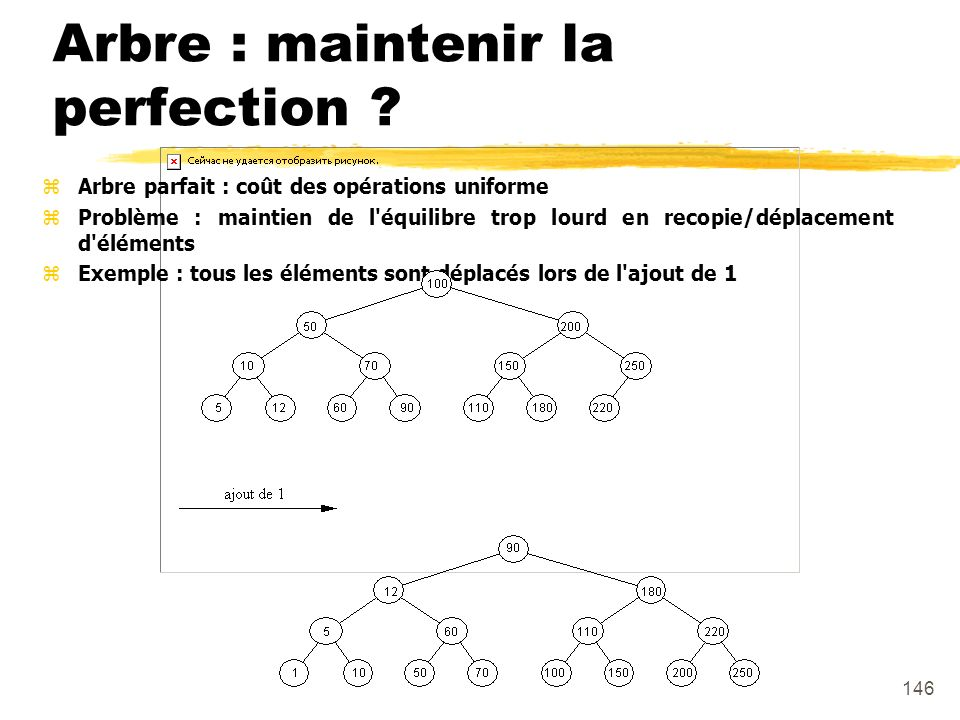 Arbre : maintenir la perfection