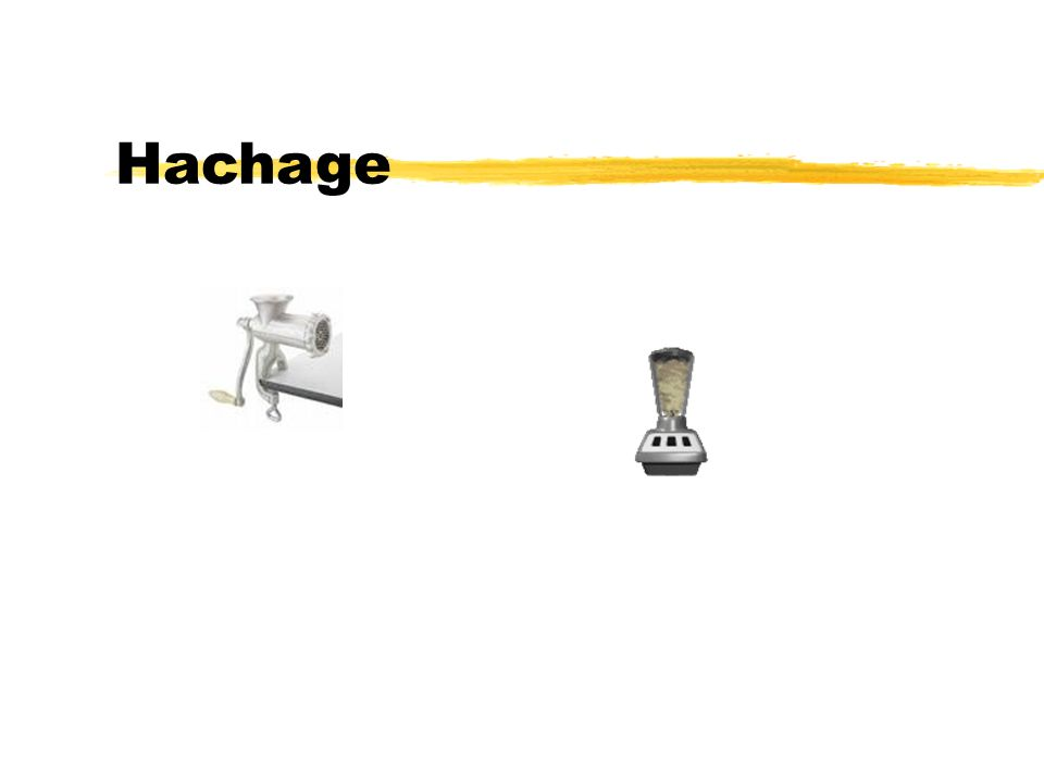 Hachage