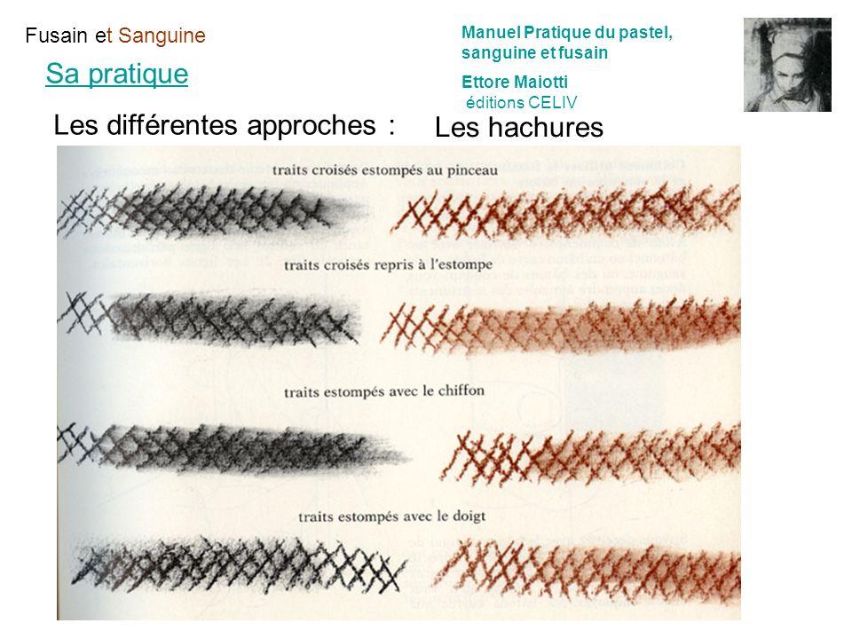 Les différentes approches : Les hachures