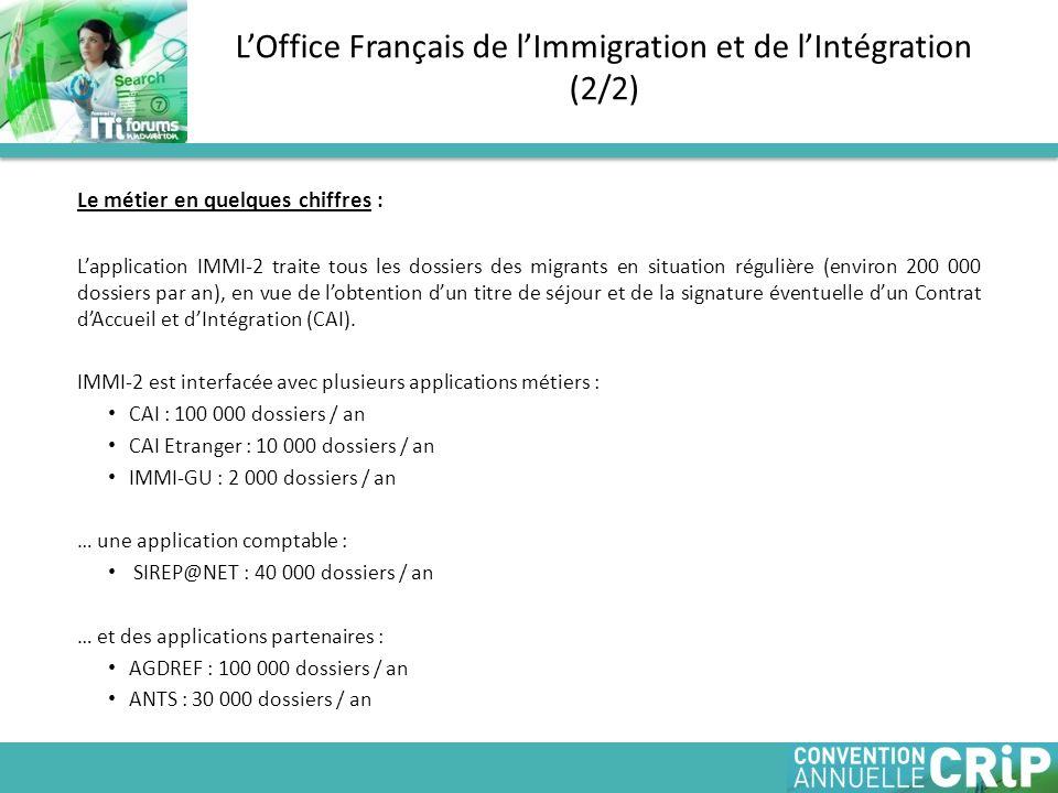 L'Office Français de l'Immigration et de l'Intégration (2/2)
