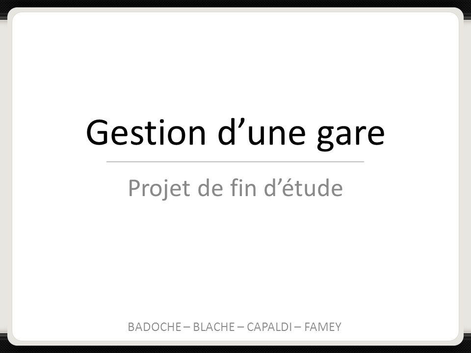 BADOCHE – BLACHE – CAPALDI – FAMEY