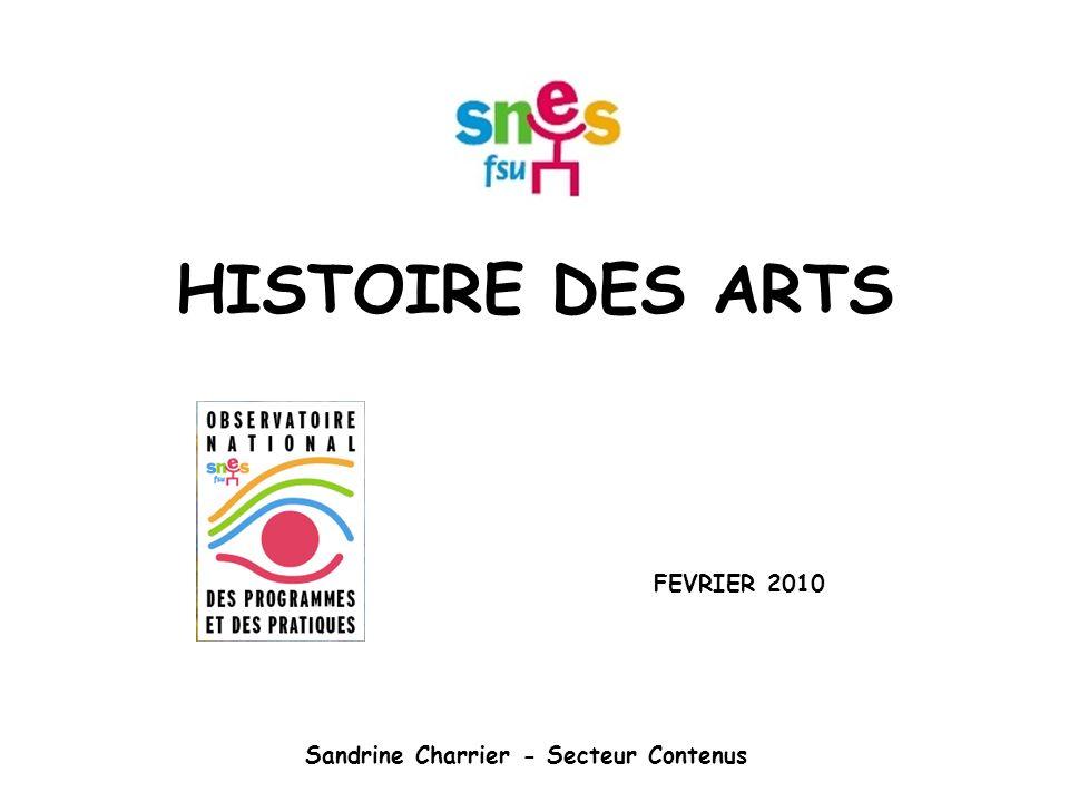 FEVRIER 2010 Sandrine Charrier - Secteur Contenus