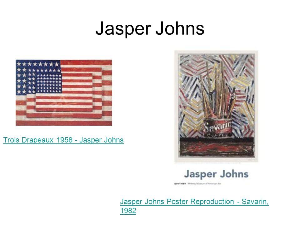 Jasper Johns Trois Drapeaux 1958 - Jasper Johns