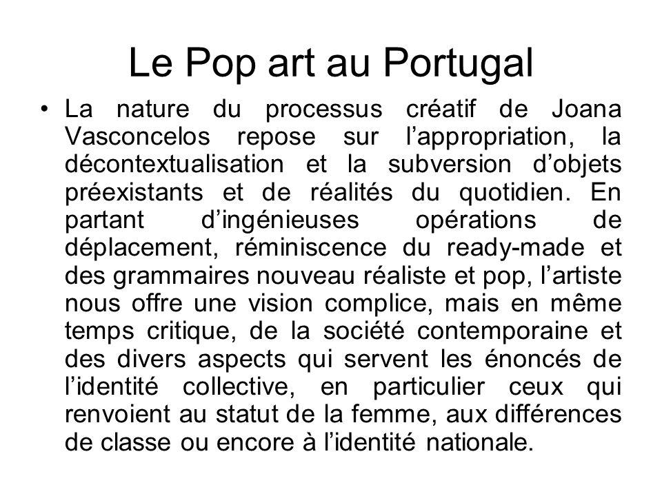 Le Pop art au Portugal
