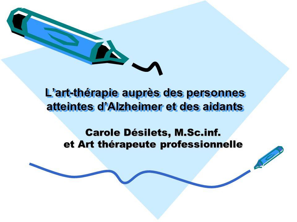Carole Désilets, M.Sc.inf. et Art thérapeute professionnelle