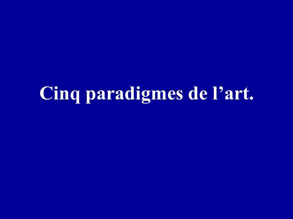 Cinq paradigmes de l'art.