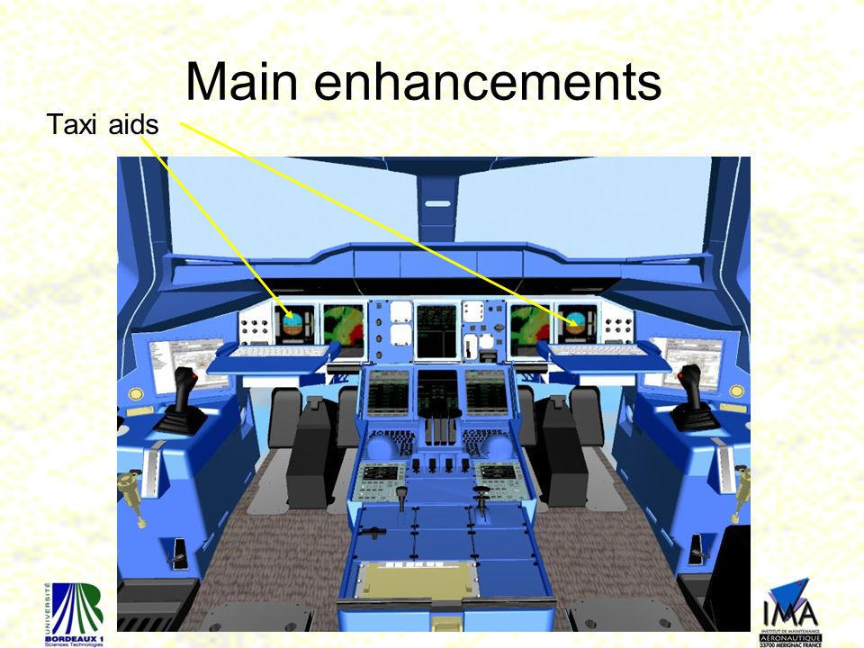 Main enhancements Taxi aids