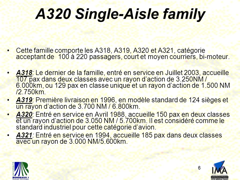 A320 Single-Aisle family