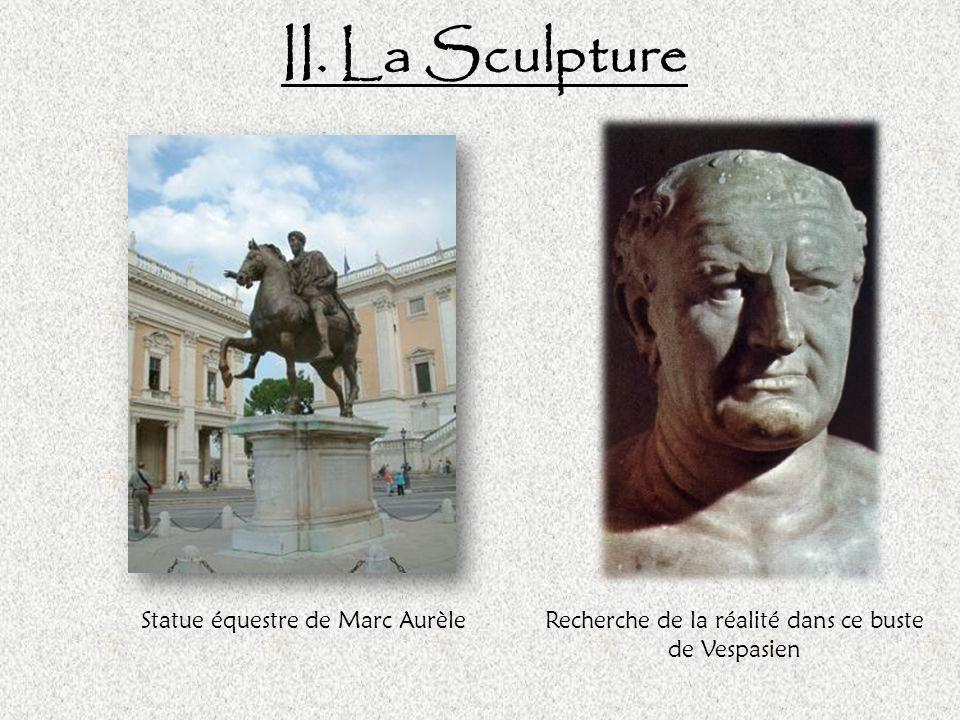 II. La Sculpture Statue équestre de Marc Aurèle