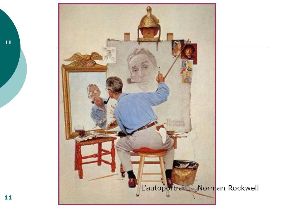 L'autoportrait – Norman Rockwell