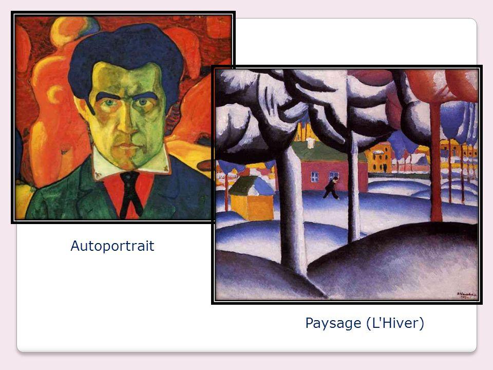 Autoportrait Paysage (L Hiver)