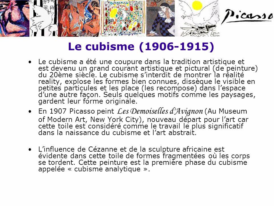 Le cubisme (1906-1915)