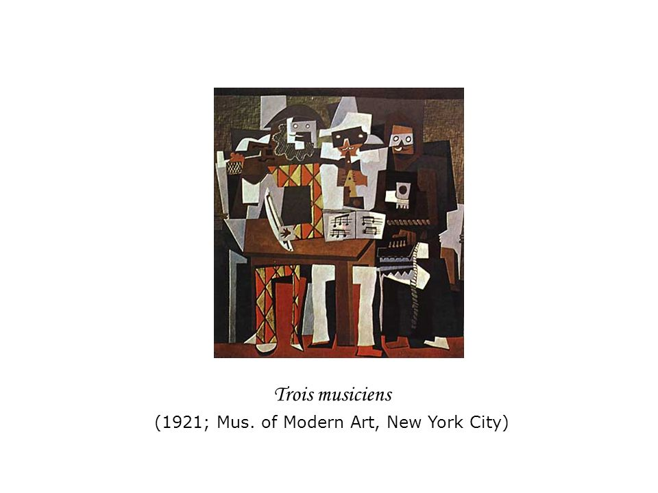 (1921; Mus. of Modern Art, New York City)