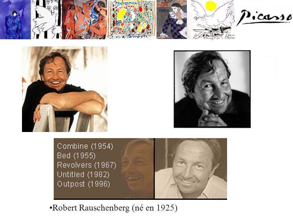 Robert Rauschenberg (né en 1925)