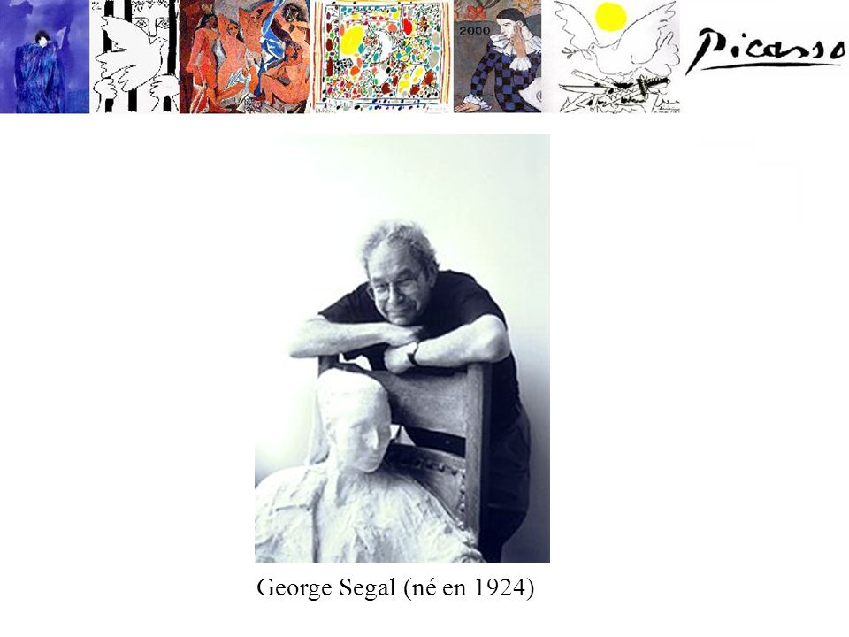 George Segal (né en 1924)