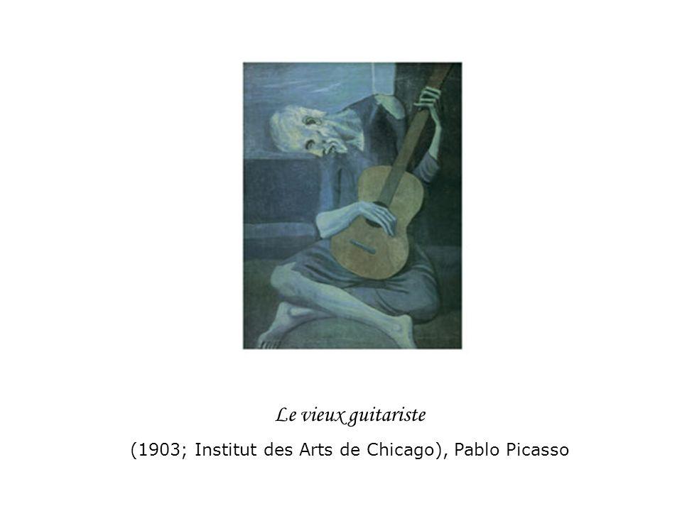 (1903; Institut des Arts de Chicago), Pablo Picasso