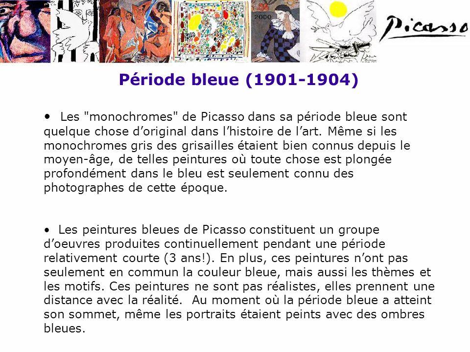 Période bleue (1901-1904)