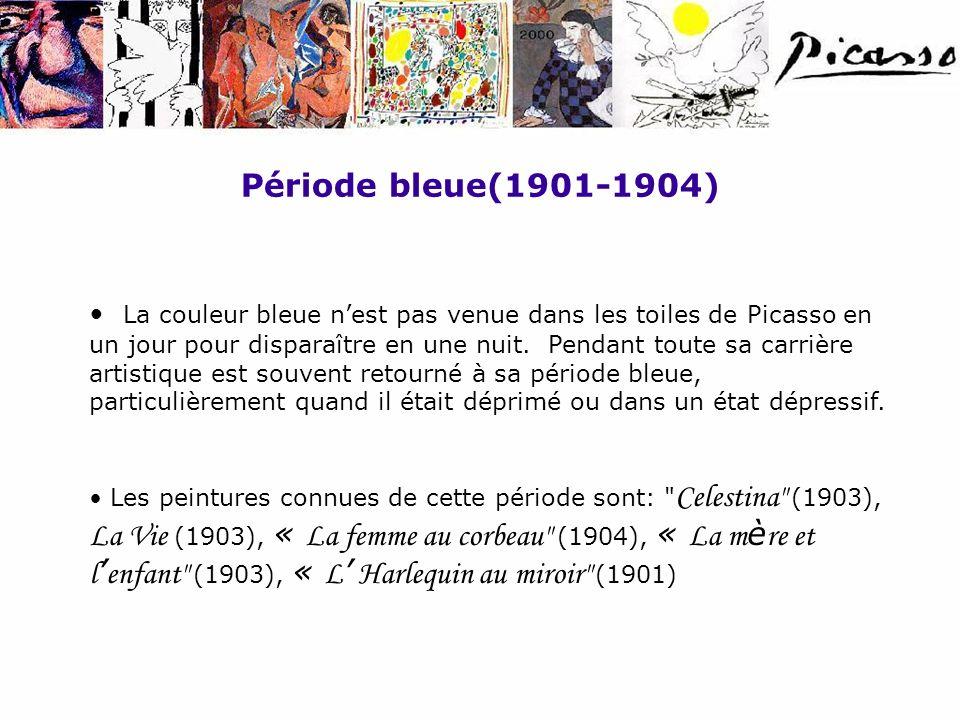 Période bleue(1901-1904)