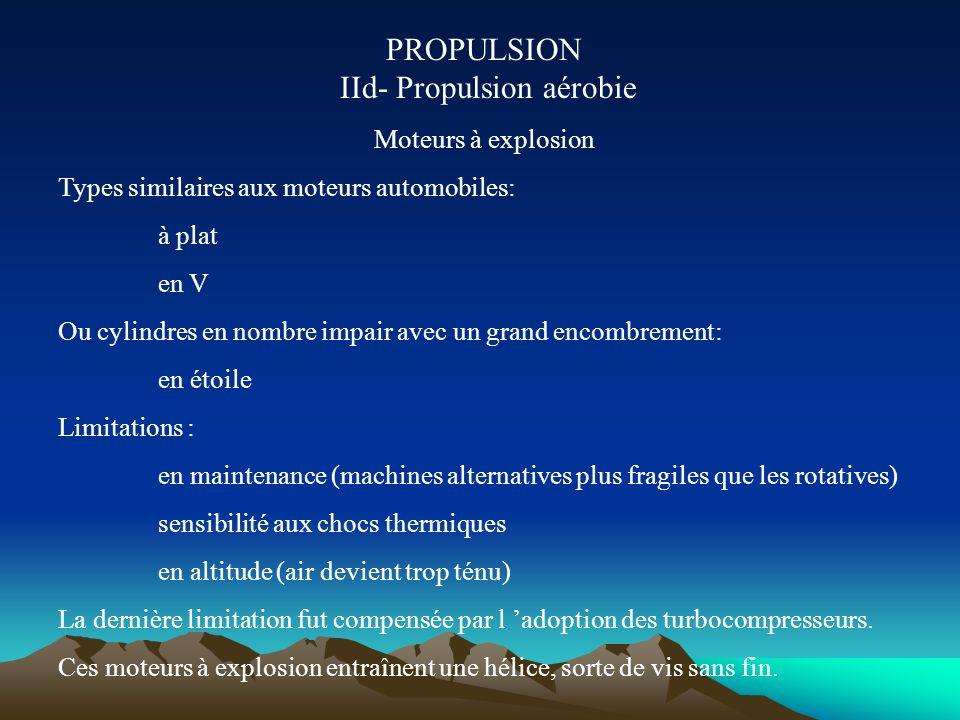 PROPULSION IId- Propulsion aérobie